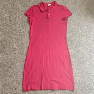 Lacoste Hot Pink dress size 40